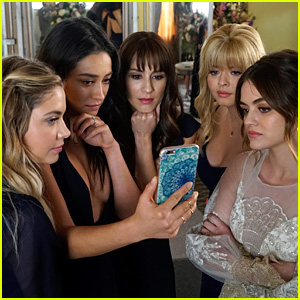 'Pretty Little Liars' Series Finale Photos - Aria's Getting Married!