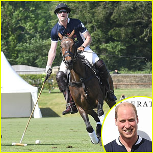 Prince William Plays in Maserati Royal Charity Polo Trophy 2017