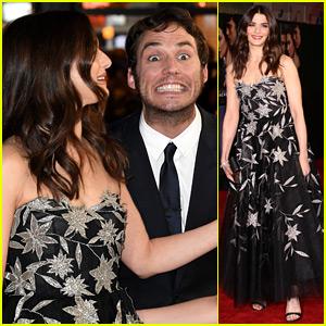 Sam Claflin Has Epic Photo Bomb Moment with Rachel Weisz & Holliday Grainger at 'My Cousin Rachel' Premiere!