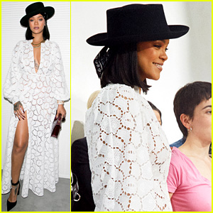 Rihanna Joins World's Biggest Designers at LVMH Event in Paris