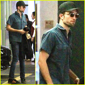 Robert Pattinson Keeps a Low Profile in Beverly Hills