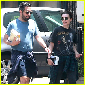 Rooney Mara Steps Out After Saving Chimpanzees in Liberia