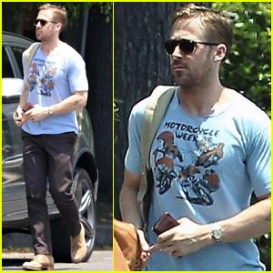 Ryan Gosling Has a Solo Lunch Outing in Los Feliz