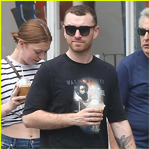 Sam Smith Steps Out After Hitting the Recording Studio