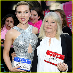 Scarlett Johansson Brings Lookalike Grandma to 'Rough Night' Premiere, As Promised!