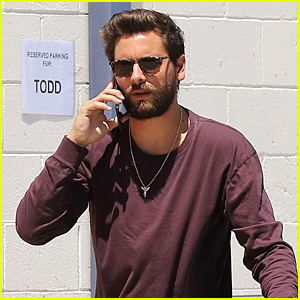 Scott Disick Continues Filming 'KUWTK' in Los Angeles