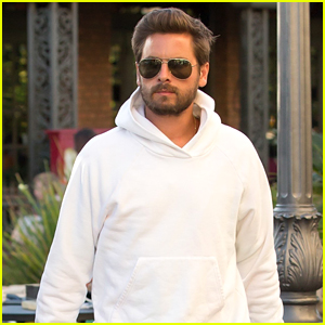 Scott Disick Spends Time with His Kids After Returning Home From Partying in Europe