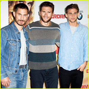 Scott Eastwood Continues 'Overdrive' Promo Tour In Berlin!