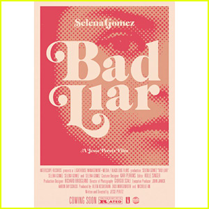 Selena Gomez Announces 'Bad Liar' Video with Movie Posters!