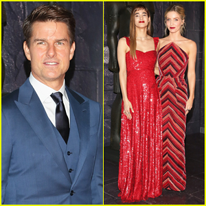 Sofia Boutella & Annabelle Wallis Loved Working With Tom Cruise On 'The Mummy'!