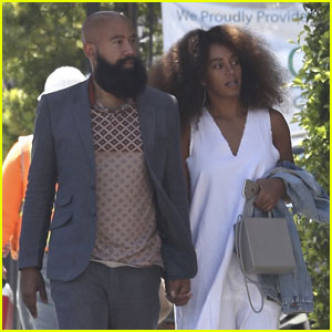 Solange Knowles Grabs Lunch Amid Beyonce Baby Rumors
