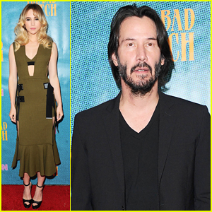 Suki Waterhouse & Keanu Reeves Premiere 'The Bad Batch' In L.A!