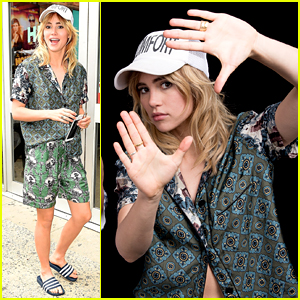 Suki Waterhouse Reveals Which 'Bad Batch' Scene Was Almost Too Intense for Her! (Video)
