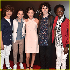 'Stranger Things' Cast Promotes Season 2 in Beverly Hills