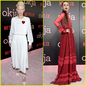 Tilda Swinton Is the Queen of Hearts at 'Okja' NYC Premiere