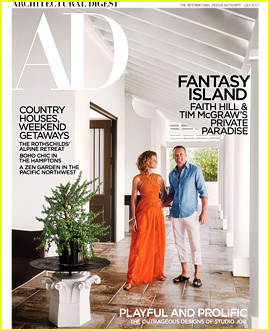 Tim McGraw & Faith Hill Give a Peek Inside Their Vacation Home