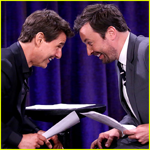 Tom Cruise & Jimmy Fallon Perform Short Skits Written by Kids!