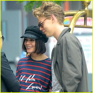Vanessa Hudgens & Austin Butler Are Summer Lovebirds in NY!