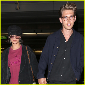 Vanessa Hudgens & Austin Butler Return Home From Romantic Hamptons Trip