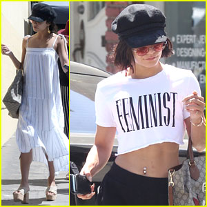 Vanessa Hudgens Is a Feminist In Studio City