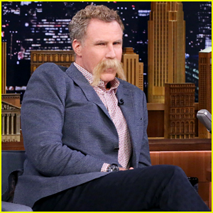 Will Ferrell Debuts His Summer 'Stache On 'The Tonight Show'!