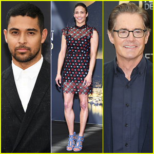 Wilmer Valderrama, Paula Patton & Kyle MacLachlan Promo Their Shows at Monte Carlo TV Festival