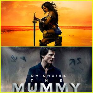 'Wonder Woman' Beats 'The Mummy' at Weekend Box Office