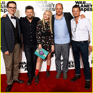 Woody Harrelson & Andy Serkis Bring 'War For The Planet Of The Apes' To London - Watch New Clip!