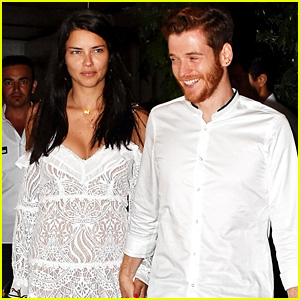 Adriana Lima & New Boyfriend Metin Hara Kiss, Hold Hands in Turkey