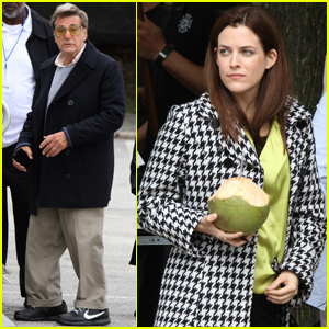 Riley Keough & Al Pacino Continue Filming 'Happy Valley' in NYC