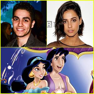 'Aladdin' Cast Announced: Meet Mena Massoud & Naomi Scott!