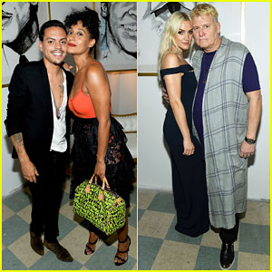 Ashlee Simpson & Evan Ross Make Art With A Cause Charity Event A Family Affair!