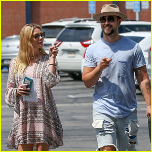 Ashley Greene & Paul Khoury Ring in Their Fourth Anniversary at the DMV