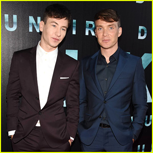 Barry Keoghan & Cillian Murphy Suit Up for 'Dunkirk' Irish Premiere