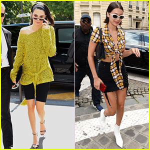 Kendall Jenner & Bella Hadid Are So Stylish in Paris