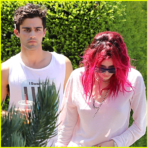 Bella Thorne Keeps a Low Profile at Lunch with Max Ehrich