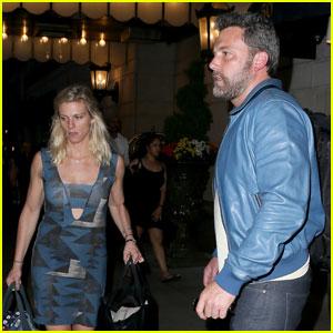 Ben Affleck & Lindsay Shookus Check Out of NYC Hotel