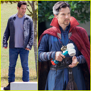 Benedict Cumberbatch Hammers Things Out With Paul Rudd For 'Avengers: Infinity War' Scene
