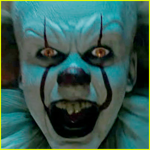 Alexander Skarsgard Sees Brother Bill As Pennywise For First Time Watch Now Alexander