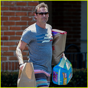 Brian Austin Green Picks Up Diapers for His & Megan Fox's Son