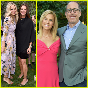 Brooke Shields & Molly Sims Attend GOOD+ Event Hosted by Jessica Seinfeld