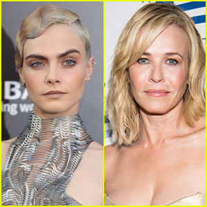 Chelsea Handler Left Her Phone with Cara Delevingne & This Is What Happened