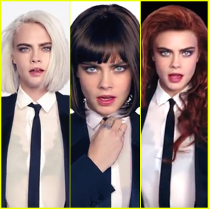 Cara Delevingne Wigs Out in 'I Feel Everything' Music Video - Watch Now!
