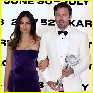 Casey Affleck Gets Girlfriend Floriana Lima's Support at Karlovy Vary Film Festival!