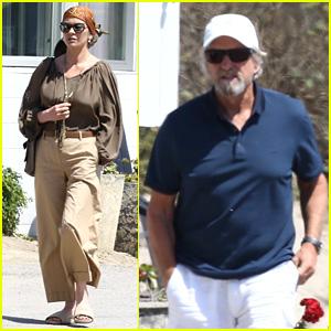 Catherine Zeta-Jones & Michael Douglas Couple Up for Malibu Lunch Date