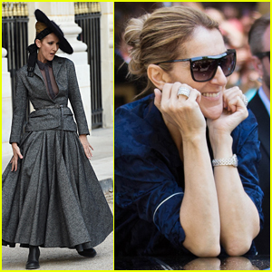 Celine Dion Goes 18th Century Chic During Dramatic Photo Shoot in Paris