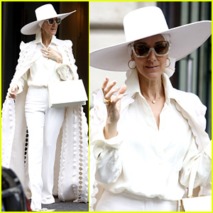 Celine Dion Looks so Fierce in Her All-White Outfit!