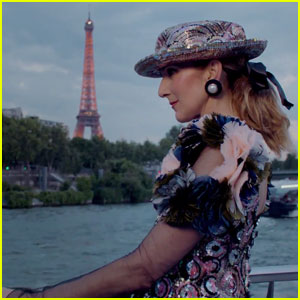 Celine Dion Plays Couture Dress-Up With 'Vogue' in Paris (Video)