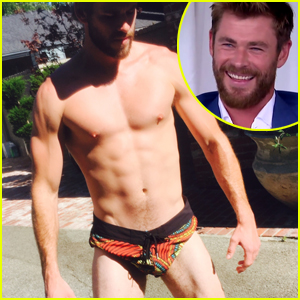 Chris Hemsworth Reacts to Brother Liam's Tiny Shorts: 'Was That Intentional?'
