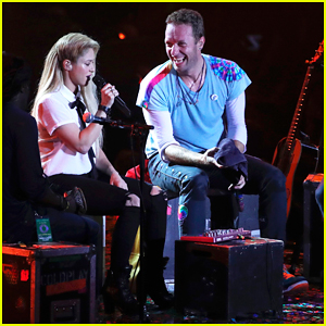 Chris Martin & Shakira Duet In Spanish at Global Citizen Festival - Watch Performances Here!